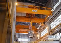 High Speed Double Beam Overhead Crane , Industrial EOT Crane Double Girder